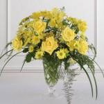 Arranjo floral para casamento