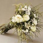 Buque de Noiva branco