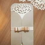 convite casamento envelope