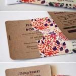 convite com envelope