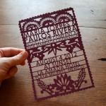 convite de matrimonio vazado