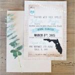 convite para casamento rustico