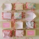 convite tipo caixinha de papel