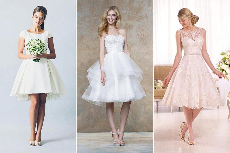 Vestidos de Noiva Curto 2021