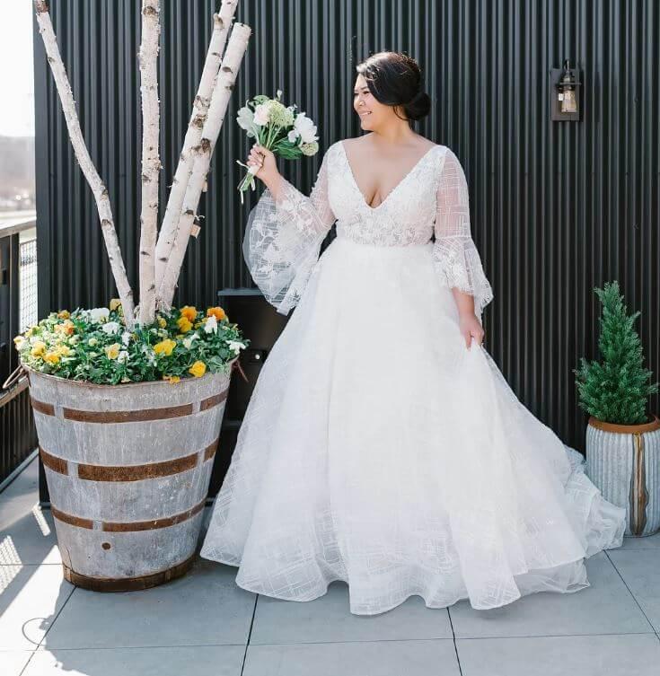 Vestidos de Noiva Plus Size 2021